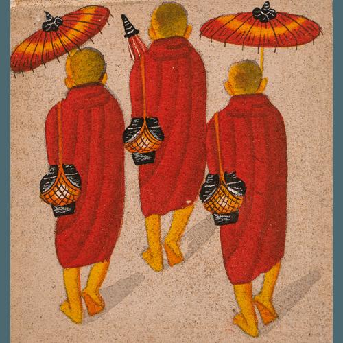 sklep FanTOUR 36 - Obraz Birmańskich Mnichów 5