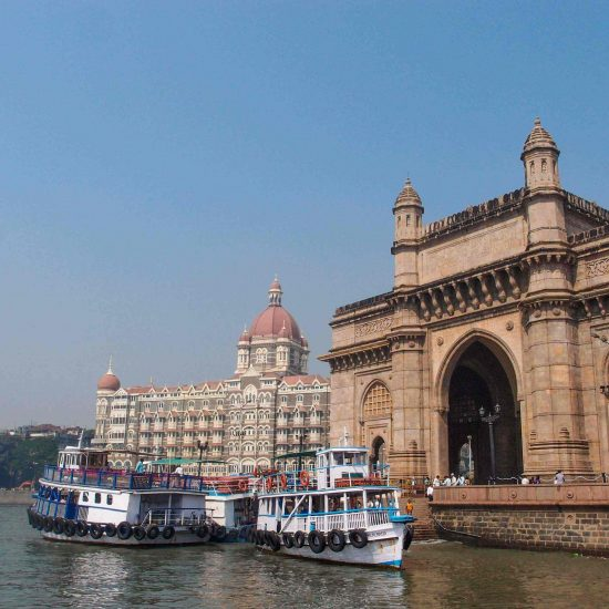 Indie Mombaj Mumbaj Brama Indii Hotel Taj Mahal